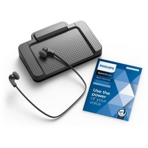 Philips LFH7177 Transcription Kit & SpeechExec Transcribe Software