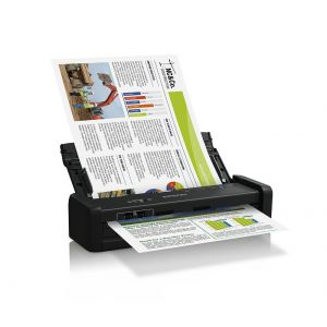 Epson WorkForce DS-360W Wireless A4 Mobile Document Scanner