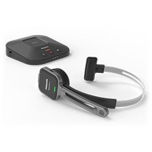 Philips PSM6500 SpeechOne Wireless Headset with Docking Station Remote Control and Status Light