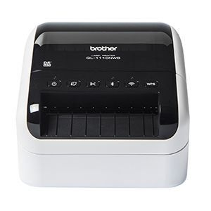Brother QL-1110NWB Network Shipping and Barcode Label Printer