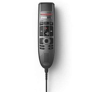 Philips SMP3700 SpeechMike Premium Touch Push Button Dictation Microphone