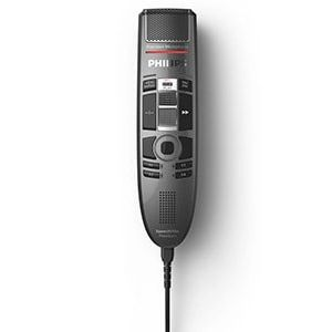 Philips SMP3710 SpeechMike Premium Touch Slide Switch Dictation Microphone