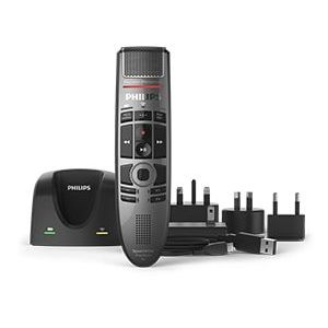 Philips SMP4000 SpeechMike Premium Air Wireless Push Button Dictation Microphone