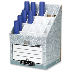 Bankers Box Roll Store Stand System  sc 1 st  Leo Office Supplies & Plan and Drawing Storage